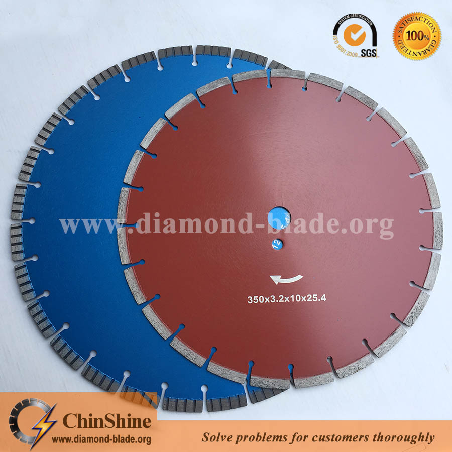 Wholesale laser welding diamond concrete saw blade and circular saw blade in low price