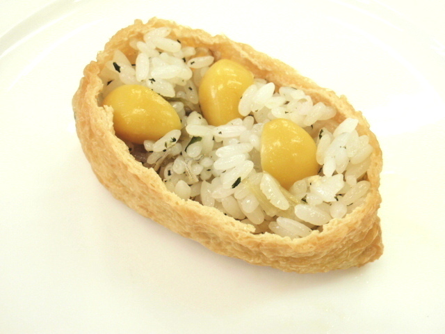 Natural oily tofu inari tofu japanese food-ingredients preparation