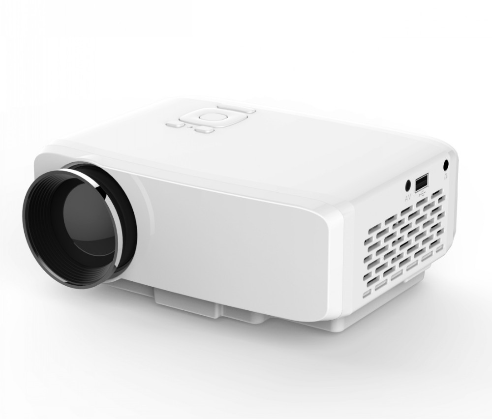 mini portable LED projector GP9S 500 lumens Industry-leading UI interface hot selling