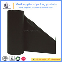 Black classic trendy PE Rolling bags for shopping