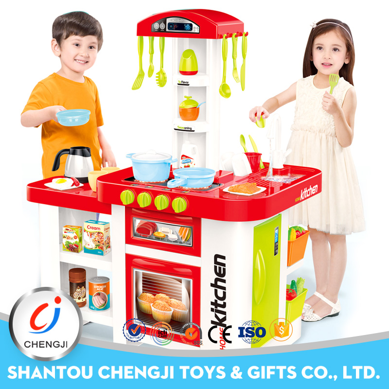Cheap high quality kitchen play set big kids funnny cooking toys