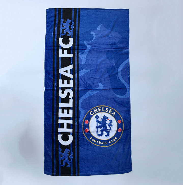2019 New Arrival Ball Game Fans Beach Towel 100% Cotton Souvenir Towel For Promotional Advertising Gifts
