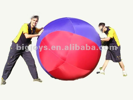 2102 inflatable big ball game ,inflatable sports