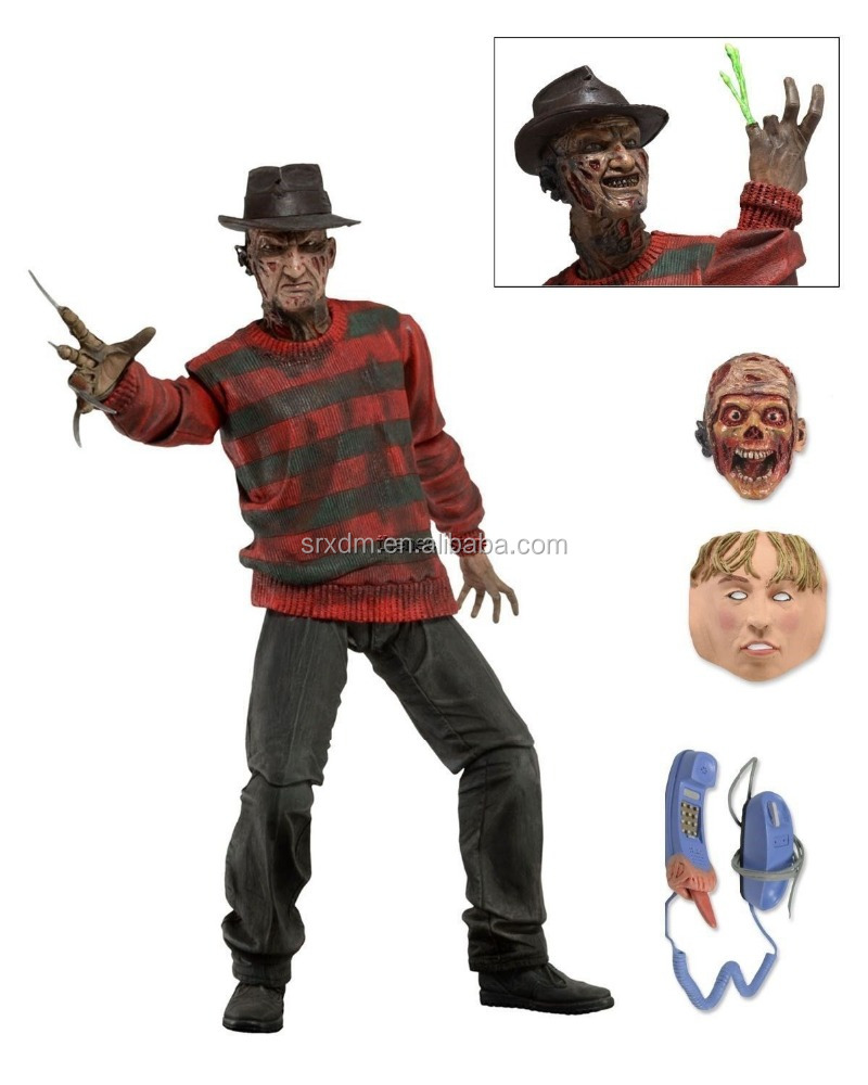 Custom Freddy Krueger Action Figure a Nightmare on Elm Street Collectible Model Hot