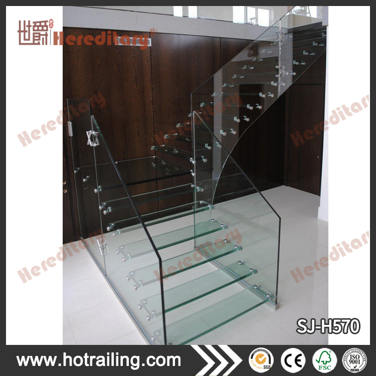 Tempered Glass Panel Stairs, Tempered Glass Panel Stairs Suppliers And  Manufacturers At Alibaba.com