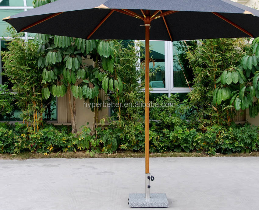 2.7M crank orange outdoor beach umbrella