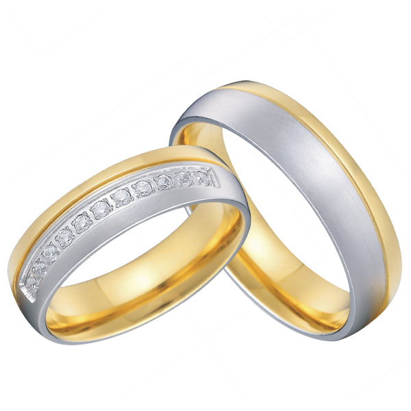 3b88686102 Get Quotations · custom tailor mens and womens titanium matching wedding  promise rings sets for couples alliance