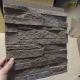 PU grey brick wall panels faux stone panels for interior and exterior decoration