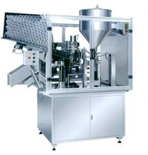2012 Cosmetic tube filling sealing machine