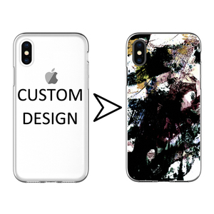 Design TPU IMD Mobile Phone Accessories for iPhone X Xs Max XrBack Base Cover for Smartphone