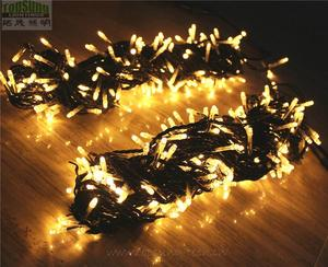 Christmas waterproof custom 50M 500 LED connectable fairy string lights