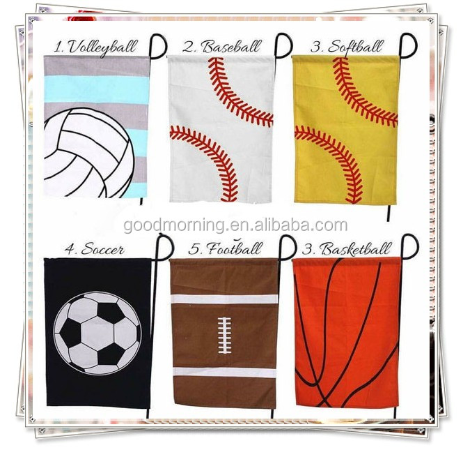 Personalized Monogram Sports Garden Decoration Flag