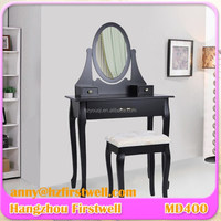 Black Wooden Dressers/ Bedroom Furniture Makeup Vanity Tables