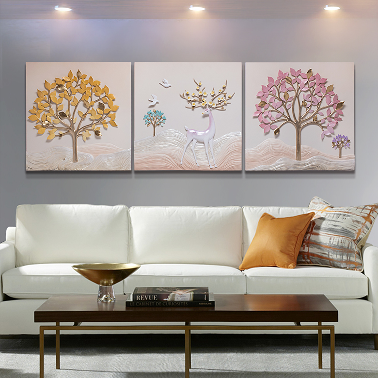 New Design Hot Sell Fabric Painting Designs In Flower 3d Wall Painting Relife Company Factory Price Painting Manufacturer Buy New Designs In