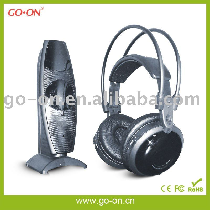 Virtual 5.1CH surround sound stereo wireless headphone