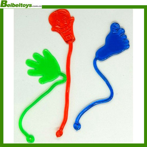 cheap TPR small plastic sticky toys