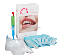 Zero peroxide teeth whitening kit bio gelpoliermittel mit mund tablett