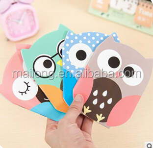 Cute tiny owl account book creative financing the household balance sheets record books PN3230