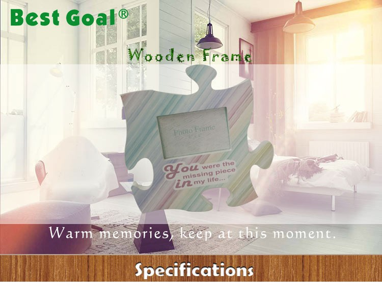 Custom Wooden Puzzle Shaped Photo Frames - Buy Wooden Picture Frame ...