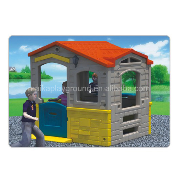 Non-toxic and durable garden children plastic playhouse toy for sale