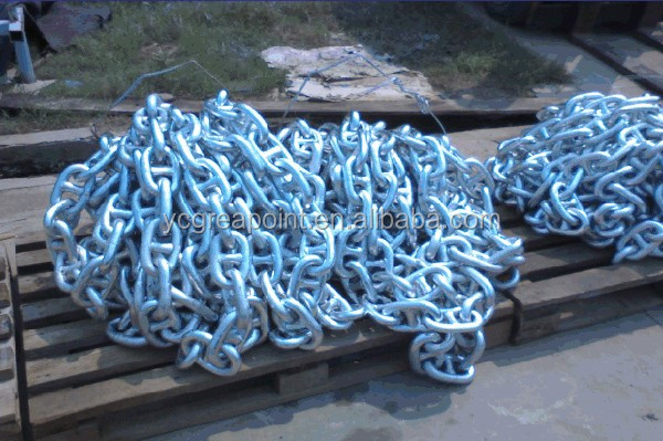 Marine Galvanized Stud Link Anchor Chain for Vessels
