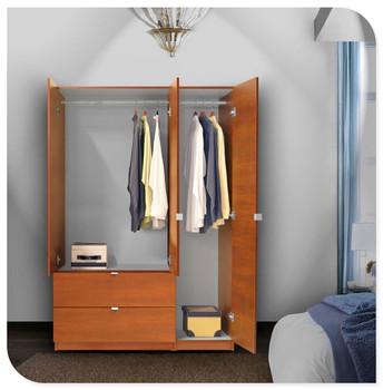 Simple Wooden Wardrobe Bedroom Wall Wardrobe Design