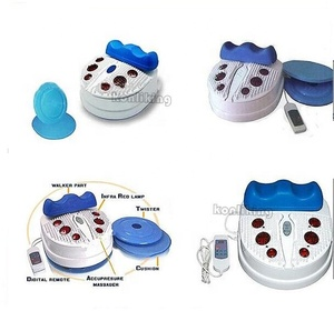 Most comfortable home use most comfortable Chi Machine swing Foot Massager with infrared functions
