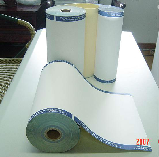 China Telex paper/Fax paper roll thermal fax machine paper roll