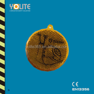Hard Plastic Round Reflector For Road Safety