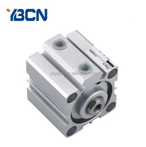 adjustable stroke SDA 12 16 20 25 bore Compact thin Pneumatic cylinder