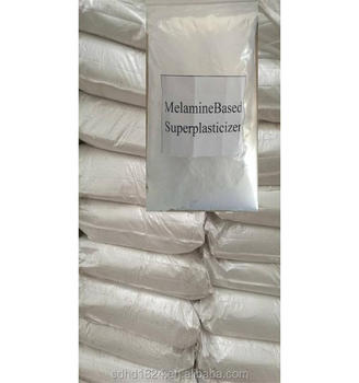 2017 Hot Sale Factory Price Concrete Admixture Melamine Based Superplasticizer