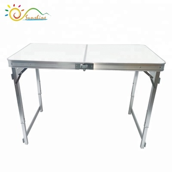 Incredible Portable Folding Table Sturdy And Lightweight Steel Frame Legs 4 Adjustable Heights Feet Buy Camping Aluminum Table Camping Table Cooking Table Beutiful Home Inspiration Aditmahrainfo