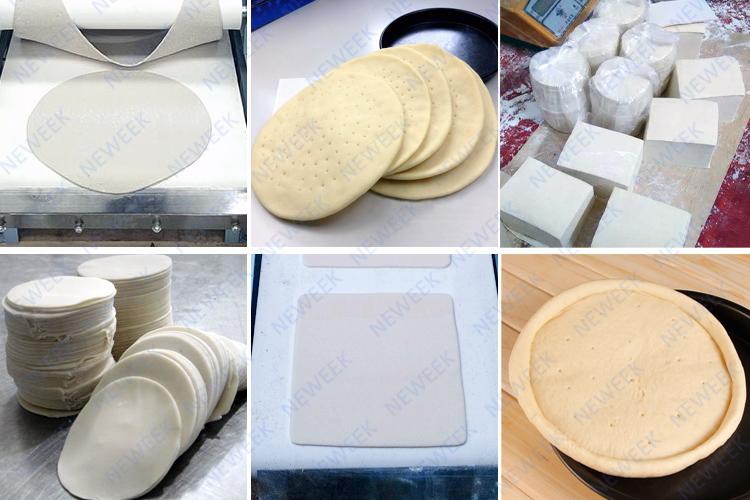 NEWEEK automatic india naan arabic pita bread corn tortilla machine