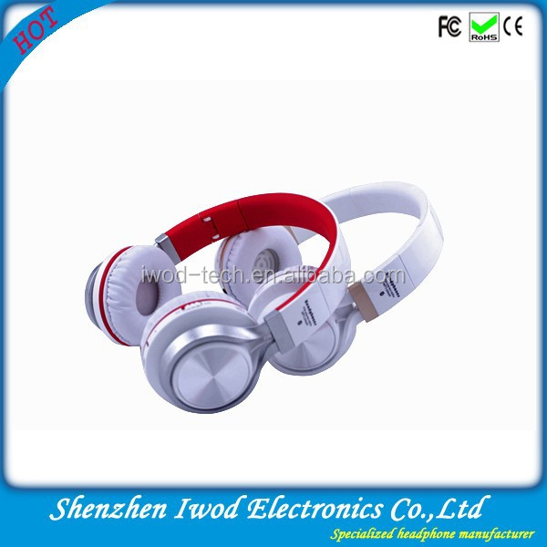 High quality mobile headphone with wire for nokia bluetooth headset built in mp3 player