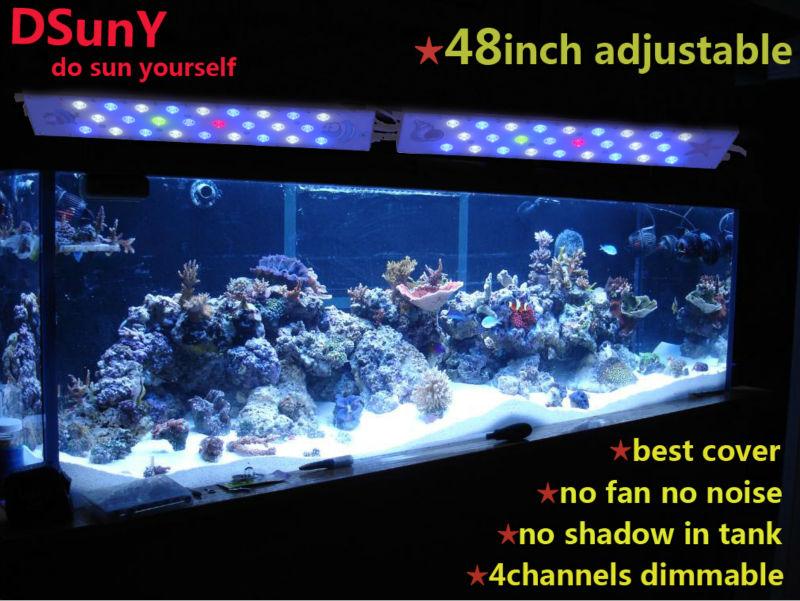 Dsuny Full Spectrum 48 Inch Marinle Diy Led Aquarium Lighting ...