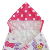 pink princess 100% cotton custom  hello kitty digital printing  baby hooded  towel for kids