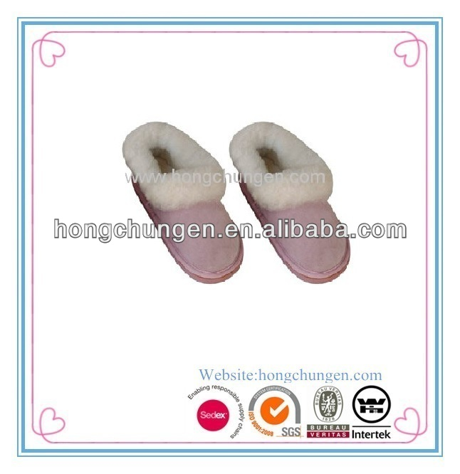 Micro suede with plush warmer full indoor slippers