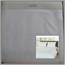 cvc 50/50 CD40xCD40 110x90 plain weave white satin fabric airjet quality