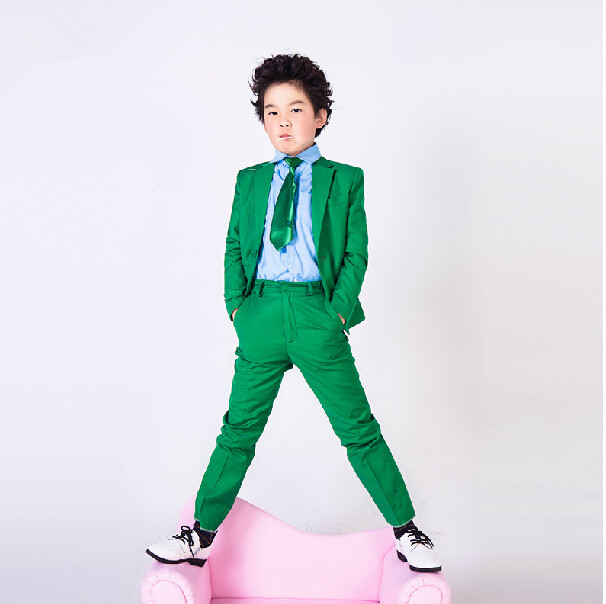 0710134e816dc Buy New style boy spring summer suit, pure color one handsome boy ...