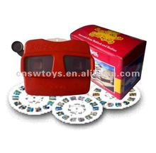 3D Image Everybody looks view master stero-Vision 3D picture viewer toy