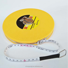 50m Round Measuring Tape Fiberglass Measuring Tape Soft Measuring Tape