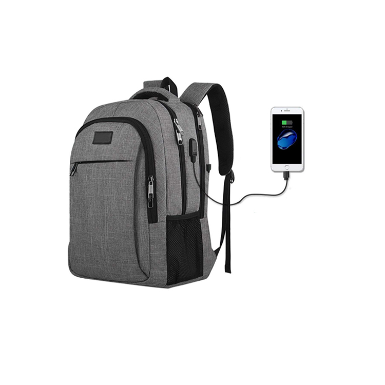 Travelling Anti-Thief Waterproof Business Laptop Backpack with USB Charging  Port 5cb01533a64fe