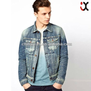 Fashion Stylish Denim Jacket Men Jean Jacket Wholesale Jxj25036 ...