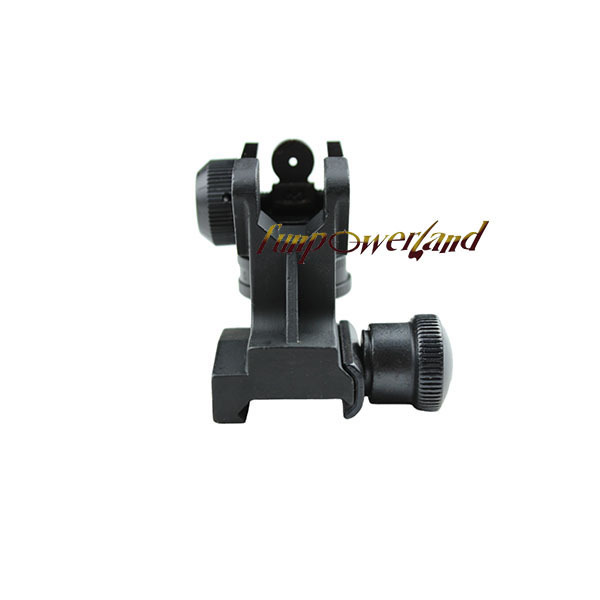 Funpowerland Tactical Rear Detachable Iron Sight Model 4/15 Picatinny Mount