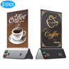 For Airport 18650 battery 4 port locker cell phone charging station menu card powerbank