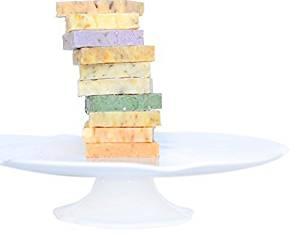 Handmade & Natural Assortment Soap Sampler Variety Pack (SET OF 10 SOAPS) | Bridal Shower Favors | Baby Shower Favors | Guest Soap | Mother's Day Gift | Soap Gift Set | Luxury Gift Set |