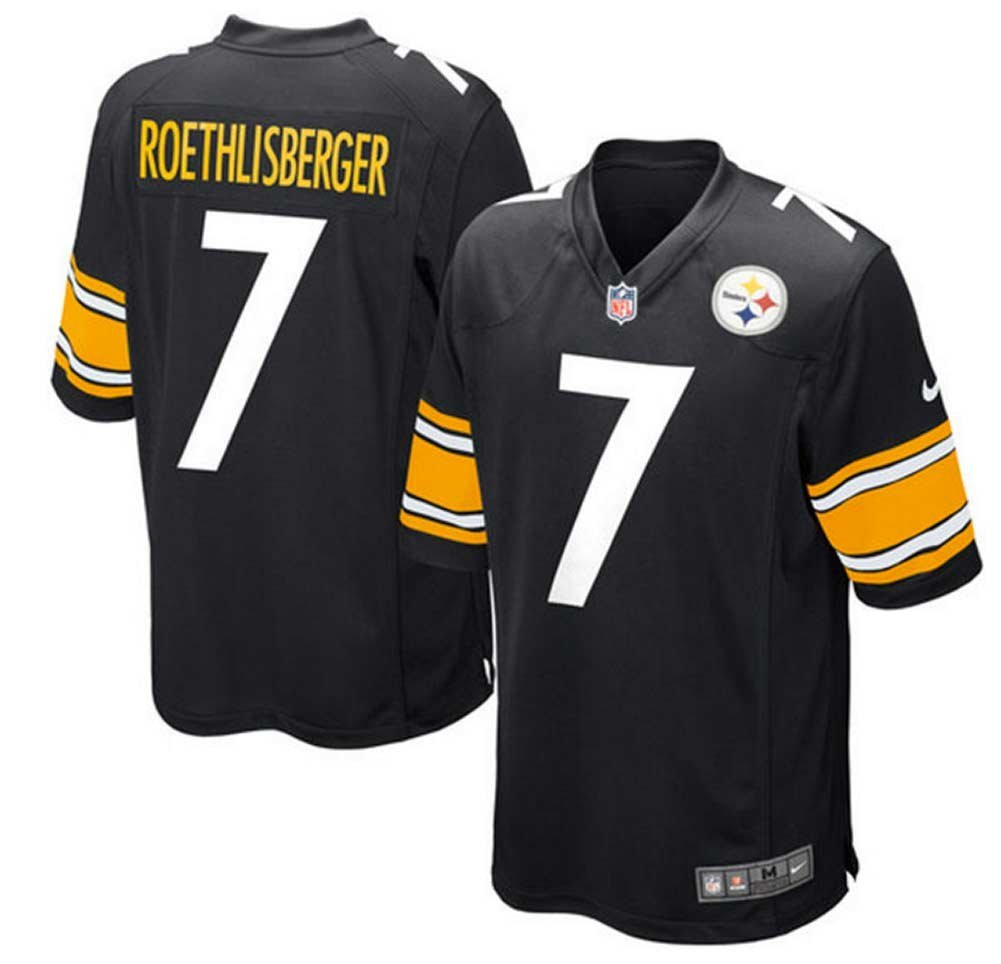 7771ad56866 Get Quotations · Ben Roethlisberger Pittsburgh Steelers Team Color Youth  Nike Game Jersey