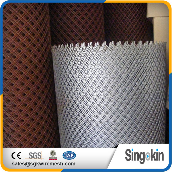 Customized manufacture vinyl coated expanded metal
