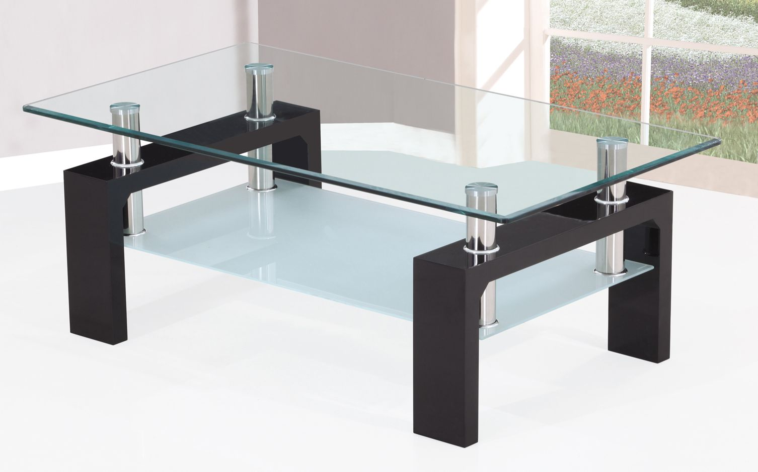 - Hot Sale 2016 Latest Popular Tempered Glass Coffee Table A-037p