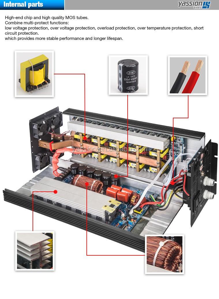 Inverter 12v 24v 220v 5000w Circuit Diagram